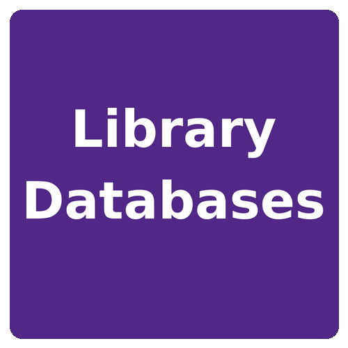 library databases button